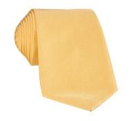 Mogador Silk Solid Signature Tie in Sun
