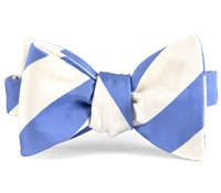Mogador Silk Stripe Bow in Persian