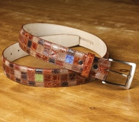 Exotic Patchwork Belt