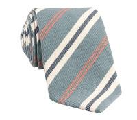 Mogador Stripe Tie in Denim