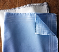 Cotton Engineered Pocket Square