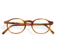 Francois Pinton Classic Oval Frame in Amber