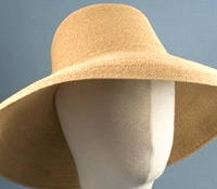 Ladies Hemp Wide Brim Sun Hat