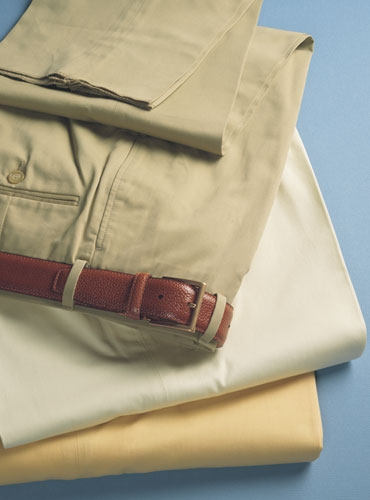 Cotton and Cashmere Trousers