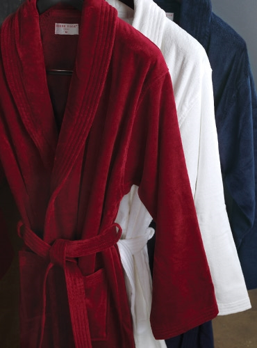 Cotton Velour Robes