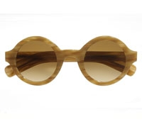 True Round Sunglasses in Blonde