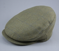 Hemsley Wool Cap in Blue and Green