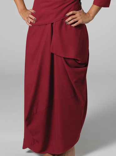 Nebuleuse Skirt in Red