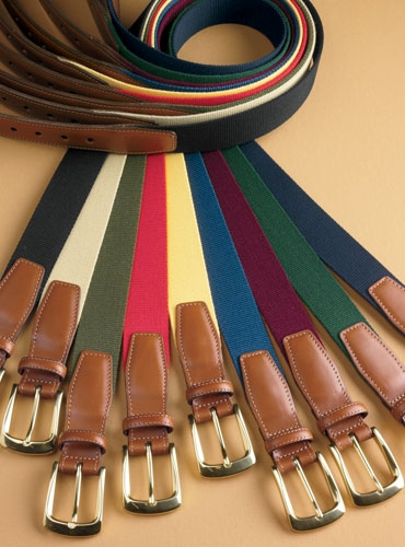 Solid Surcingle Twill Belts