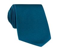 Silk Solid Signature Tie in Teal
