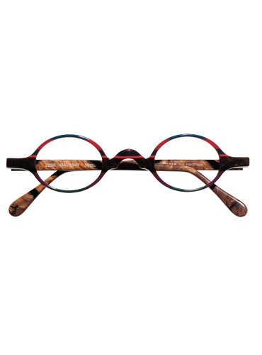 Silver Line Multi-Colored Handmade Frame in Pink and Brown