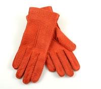 Orange Pecary Unlined Gloves