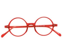 Pure Red English Round Frame