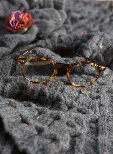 Nearly Oval Frame in Dark Tortoise