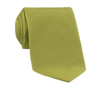 Woven Silk Solid Tie in Sage