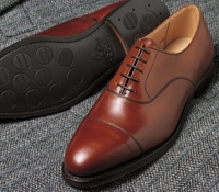 The Connaught Oxford in Burnished Chestnut