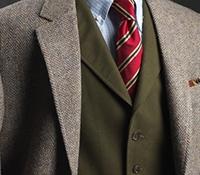Moleskin Waistcoat in Olive