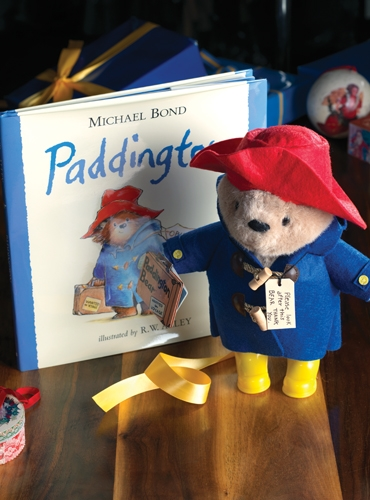 Paddington Bear And Book