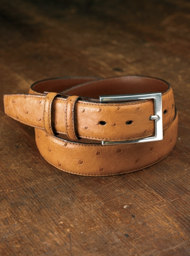 Genuine Ostrich Belt