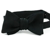 Faille Bow Black