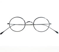 Lafont Round Wire Frame in White Gold