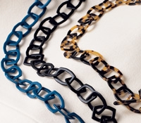 Square Link Eyeglass Chains