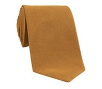 Silk Solid Signature Tie in Oak