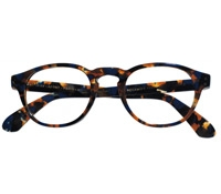Semi-Square Frame in Blue Tortoise