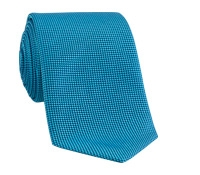 Silk Basketweave Tie in Jade