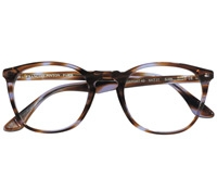 Square Frame in Purple Tortoise