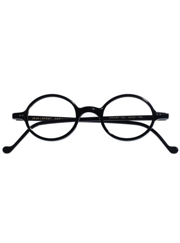 Small Round Frame in Black