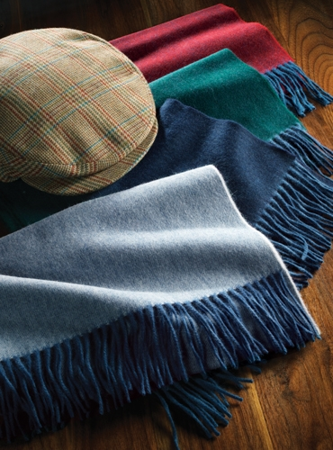 Wool and Alpaca Scarves
