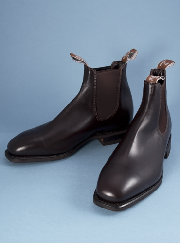 R M Williams Comfort Craftsman Boots In Chestnut