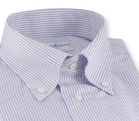 Bengal Stripe Oxford Lilac Shirt