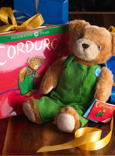 Corduroy Toy And Book