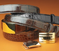 Alligator Straps and Sterling Buckles