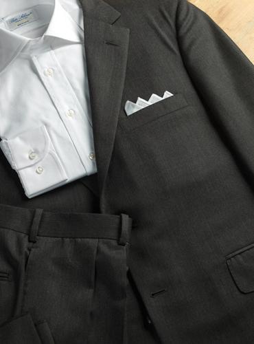 Suit Dark Grey Gabardine