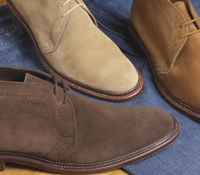 The Alden Chukka Boots in Suede