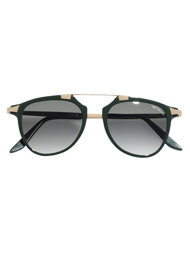 Fashion Flare Sunglasses in Green