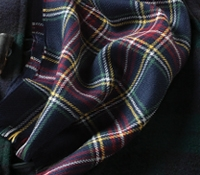 Wool Black Watch Tartan Scarf