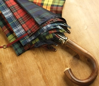 Fox Multi Tartan Umbrella