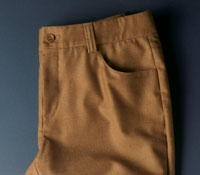Ladies Wool and Cashmere Vicuna-colored Jean