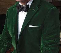 Green Velvet Dinner Jacket