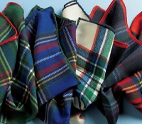 Wool Tartan Pocket Square