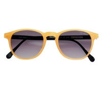 Colorful Sunglasses in Orange Matte