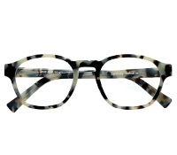 Bold Rounded Square Frame in Cream Tortoise