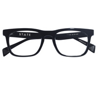 Wentworth Bold Rectangular Frame in Black