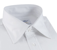 Classic White Twill Kelly Collar