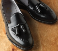 The Alden Tassel Moccasin in Black