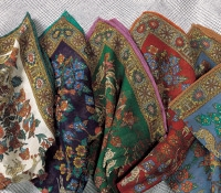 Flora and Fauna Pocket Squares